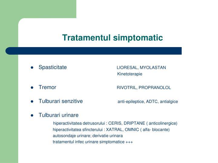 Tratamentul simptomatic