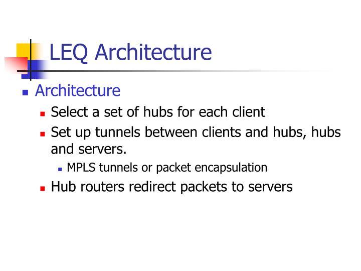 LEQ Architecture