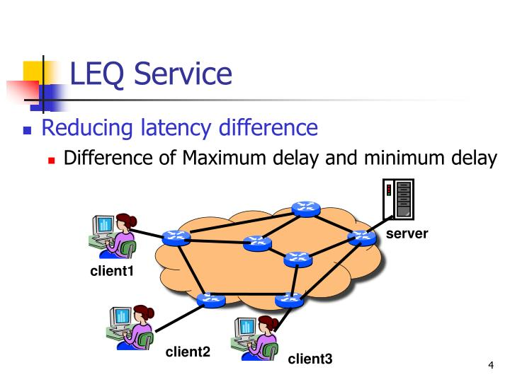 Reducing latency difference