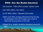 nvis for the radio amateur
