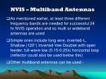 nvis multiband antennas