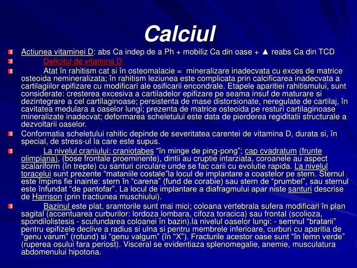 Calciul