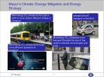 mayor s climate change mitigation and energy strategy