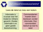 informatiemanagement