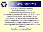 information power