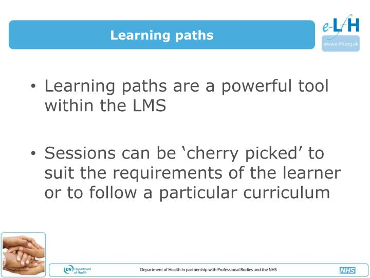 Learning paths