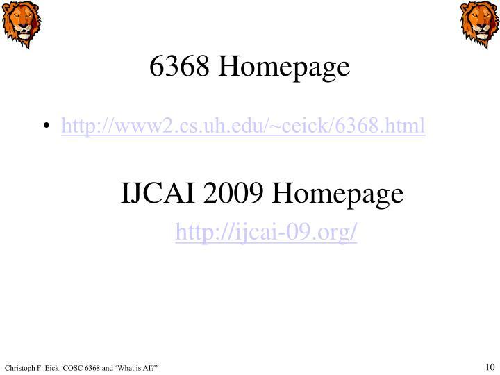 6368 Homepage