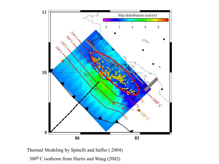 Thermal Modeling by Spinelli and Saffer ( 2004)