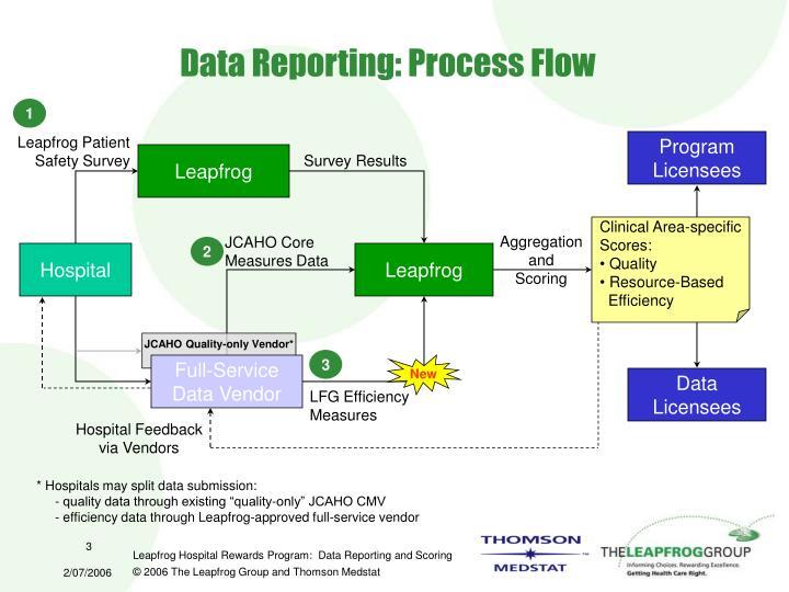 Data Reporting: Process Flow
