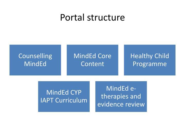 Portal structure