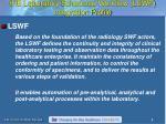 ihe laboratory scheduled workflow lswf integration profile