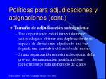 pol ticas para adjudicaciones y asignaciones cont4