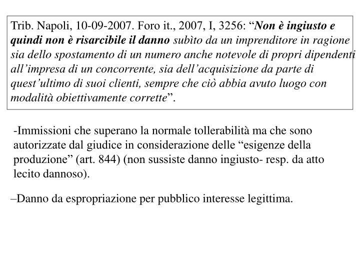 Trib. Napoli, 10-09-2007.