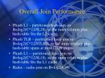 overall join performance1