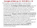 consiglio di stato sez iv 10 01 2012 n 14