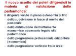 il nuovo assetto dei poteri dirigenziali in materia di valutazione delle performance