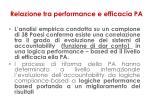 relazione tra performance e efficacia pa1