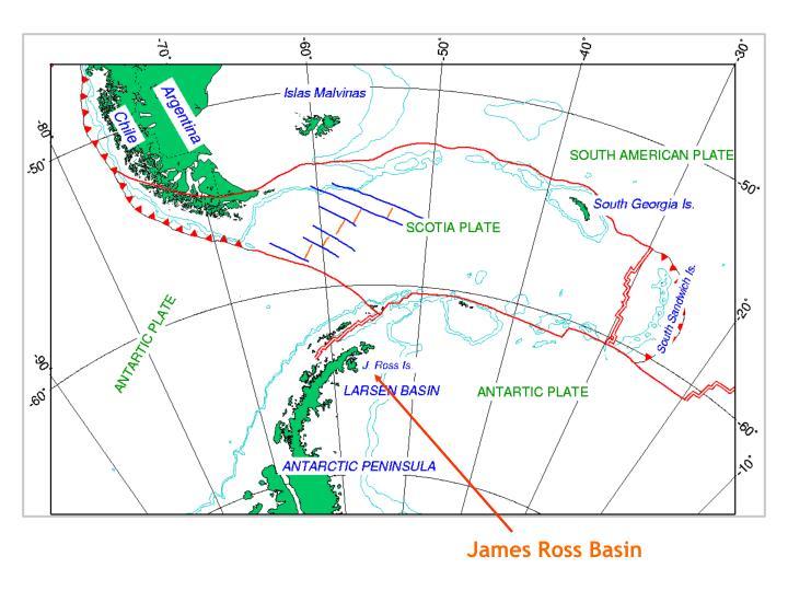 James ross basin