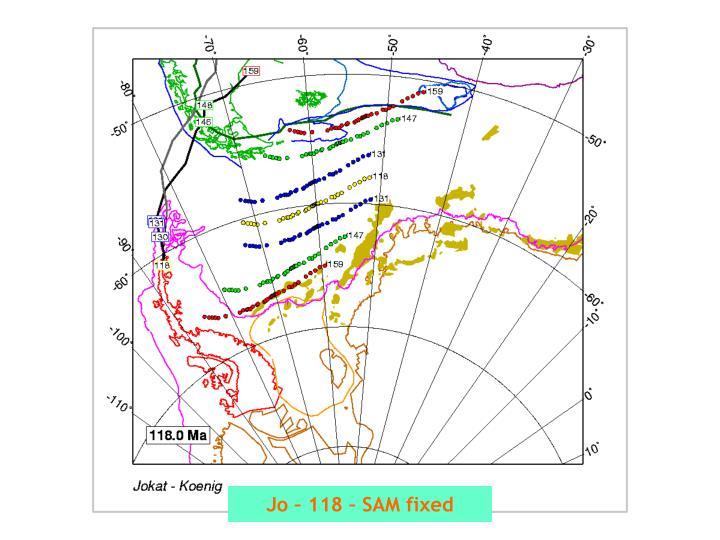 Jo – 118 – SAM fixed