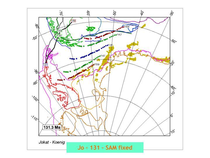 Jo – 131 – SAM fixed