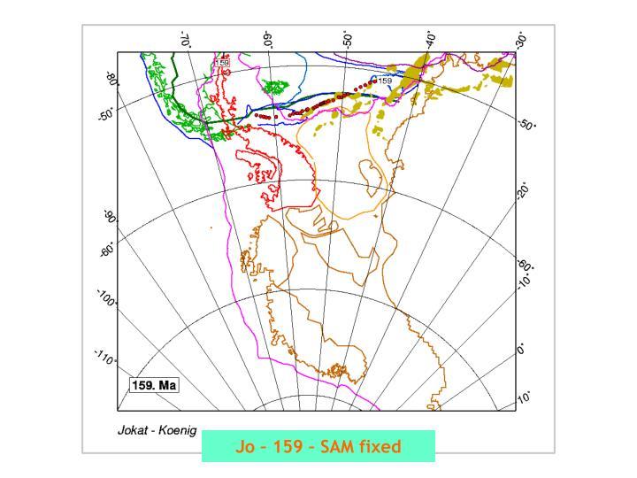 Jo – 159 – SAM fixed