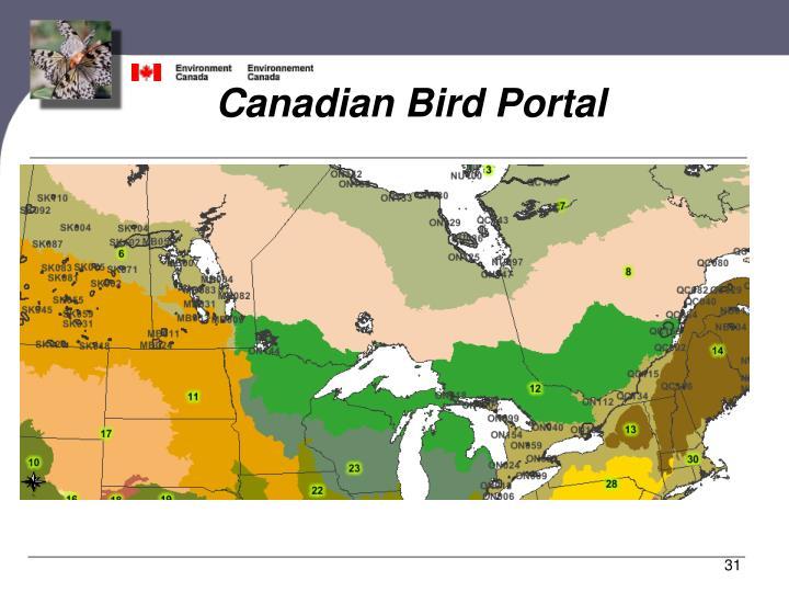 Canadian Bird Portal