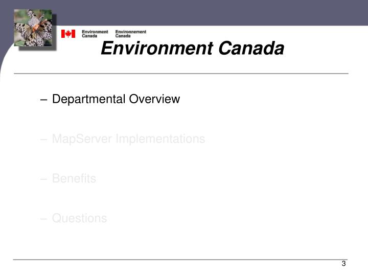 Environment canada1