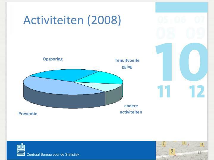 Activiteiten (2008)