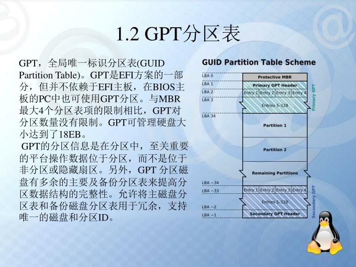 1.2 GPT