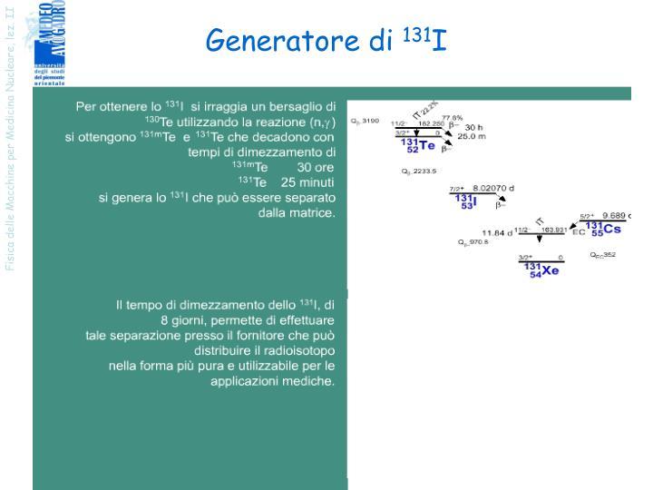 Generatore di