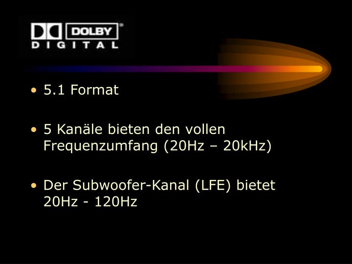 5.1 Format