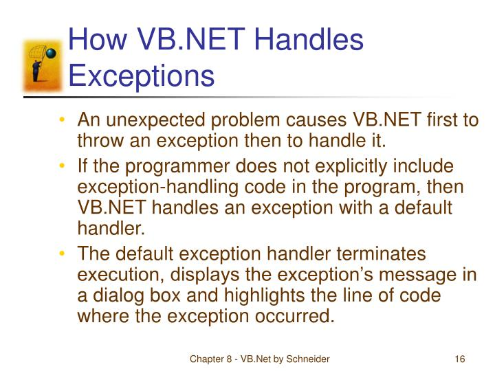 How VB.NET Handles Exceptions
