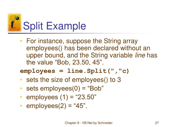Split Example