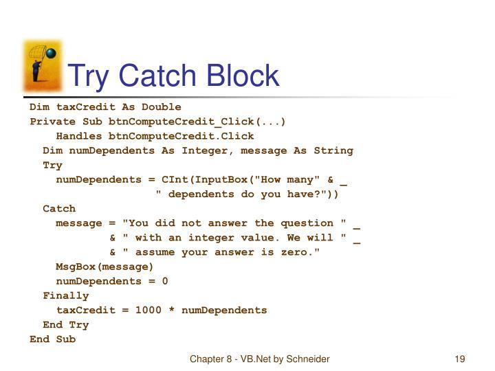 Try Catch Block