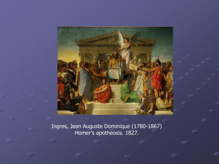 Ingres, Jean Auguste Dominique (1780-1867)
