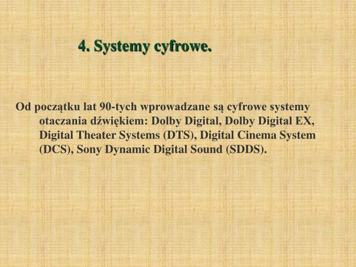 4. Systemy cyfrowe.