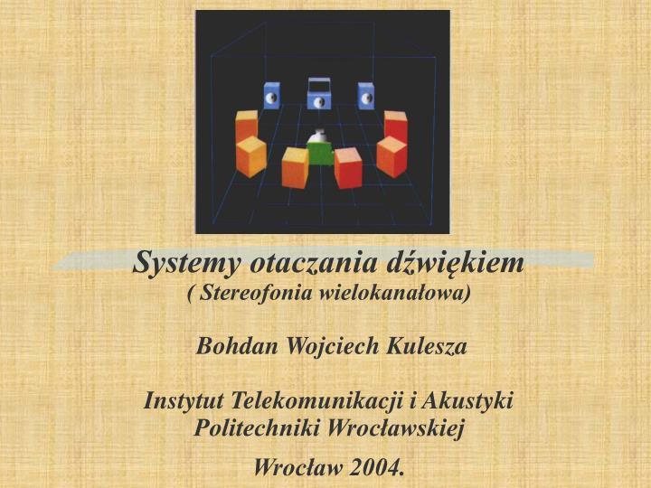 Systemy otaczania dźwiękiem