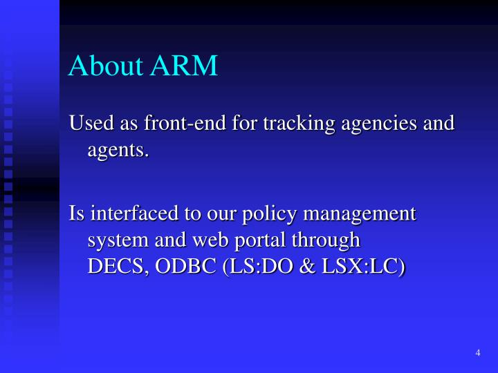 About ARM