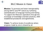 bilc mission vision