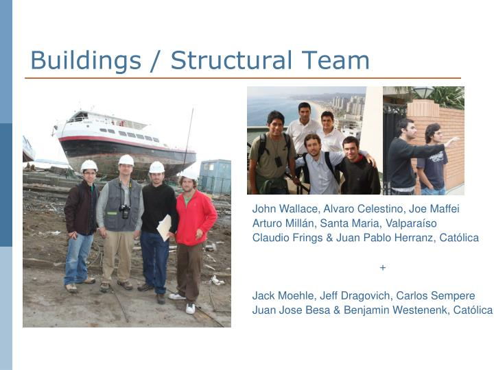 Buildings / Structural Team