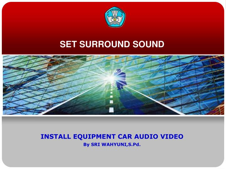 Set surround sound