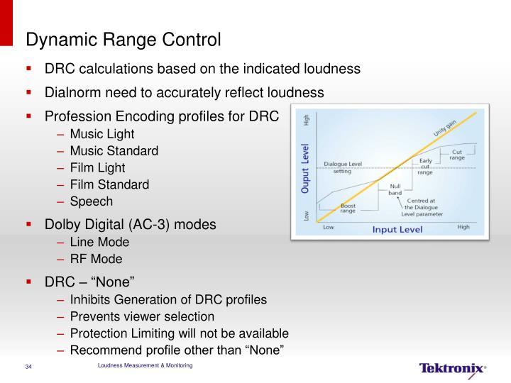 Dynamic Range Control