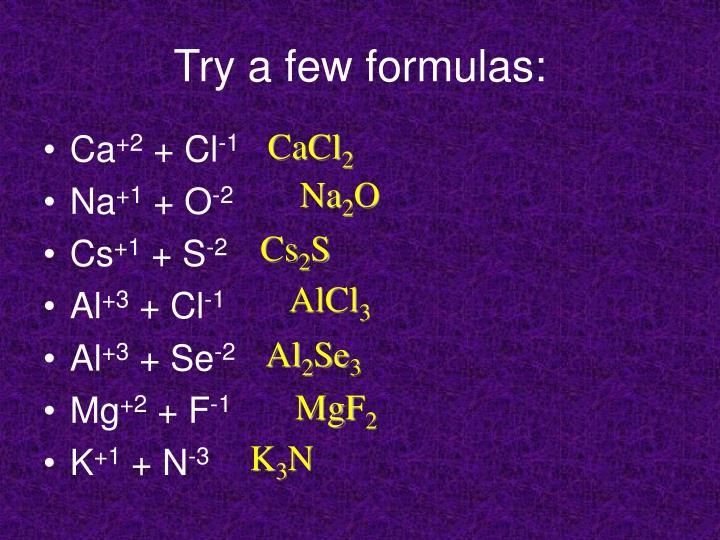 Try a few formulas: