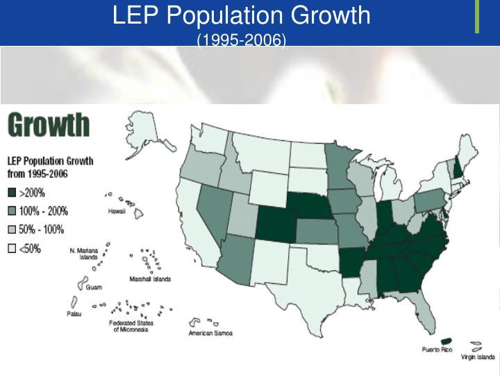LEP Population Growth