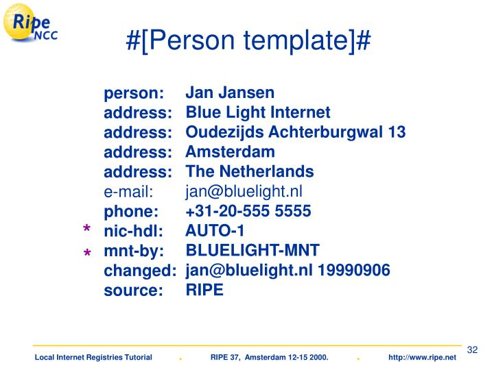 #[Person template]#
