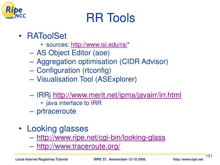 RR Tools