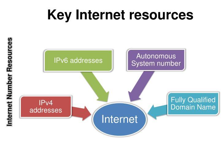 Key internet resources