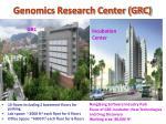 genomics research center grc