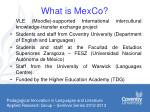 what is mexco
