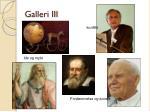 galleri iii